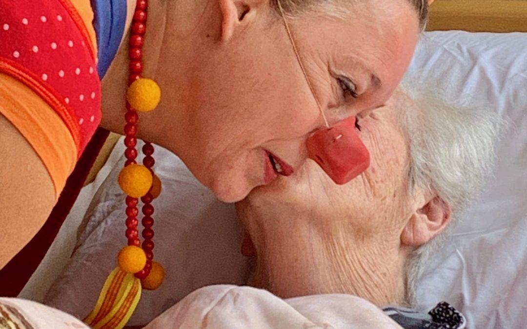 contactclown Mau voor mensen met dementie of een verstandelijke beperking